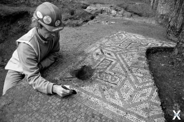 Раскопки в «Северных Помпеях»