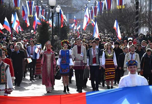Хорошо сказал!!! В Крыму прокомментировали призыв США отдать полуостров Украине.