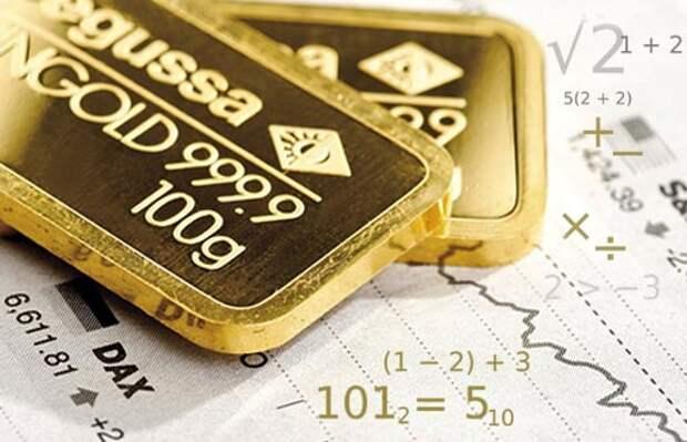 Технические предупреждения для золота?