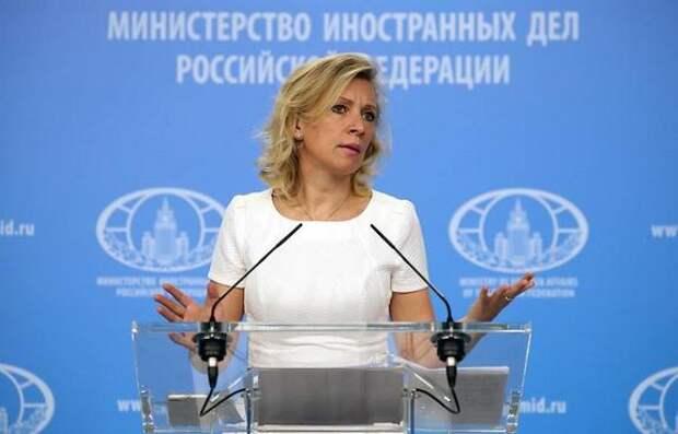 Захарова ответила на шутку Зеленского о «вездесущих русских»: «Блинкен заверял, что украинцы в безопасности»