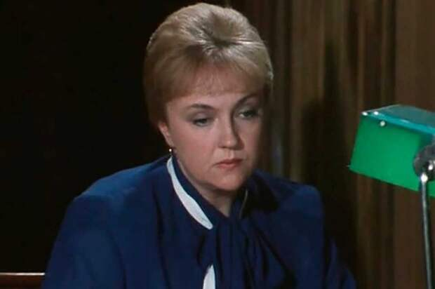 """Екатерина Градова. Кадр из """"Гнездо глухаря"""" (1987)"""