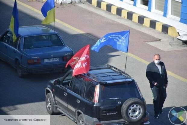 Пытаются сорвать 9 Мая: в Одессе радикалы заблокировали автопробег в честь Дня Победы
