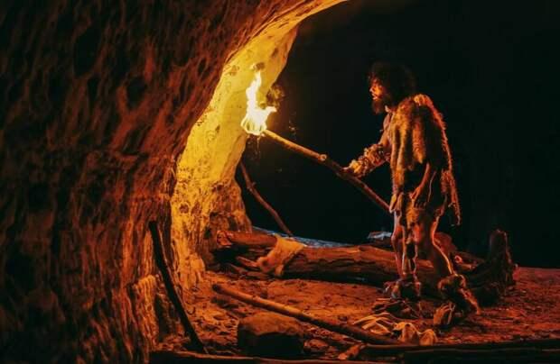 Как предки создавали освещение в пещере