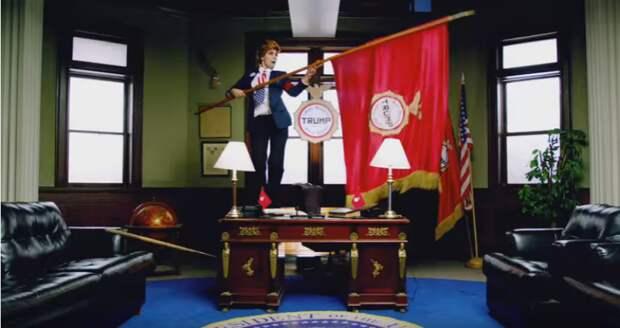 Pussy Riot выпустили видеоклип с агитацией против Трампа
