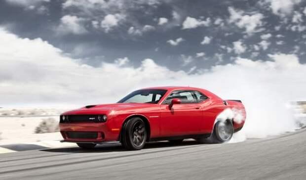 Доездился: «гонщик» на Dodge Hellcat стал героем новостей