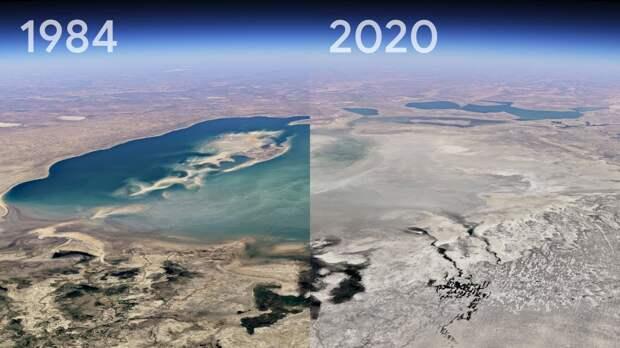 Google Earth создал ролики про то, как менялся мир за последние 35 лет