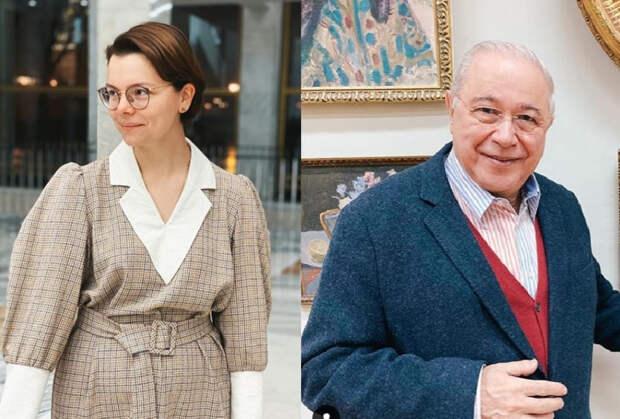 Евгений Петросян с молодой женой