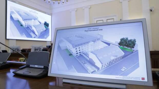 Утверждён проект нового гостиничного комплекса на месте ансамбля «Дома Трезини»