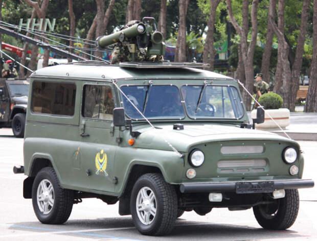 УАЗ Скорпион-1 - разработка корпорации «Защита». | Фото: drive2.ru.