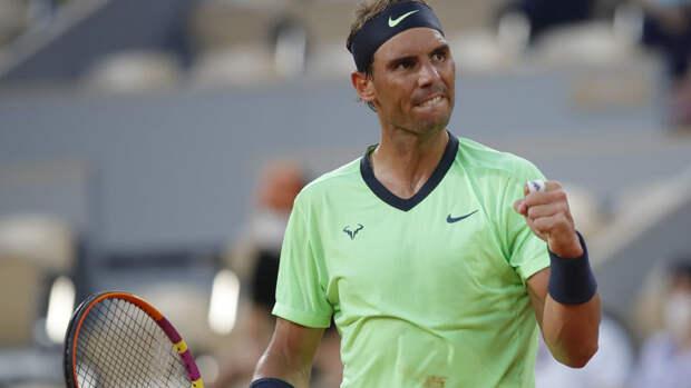 Надаль потерпел третье поражение заисторию выступлений наRoland Garros