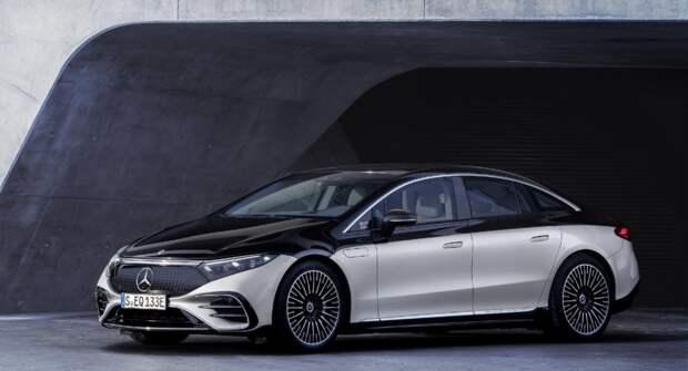 Mercedes-Benz EQS — новый электрокар с автопилотом и продуманным интерьером