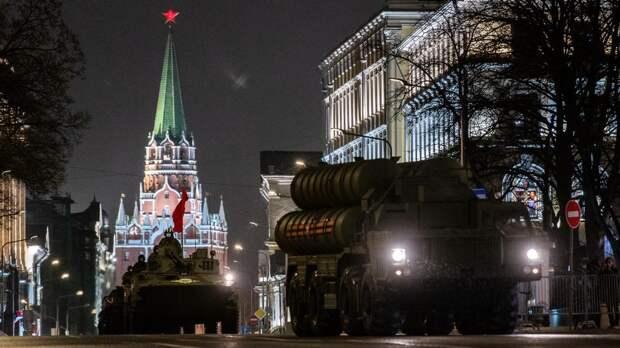 Ряд улиц Москвы перекроют 7 мая для подготовки к параду Победы