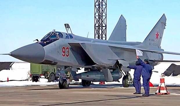 MW: Русские МиГ-31К с «Кинжалами» возьмут на прицел ворота в Арктику
