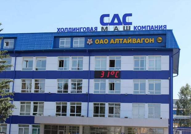 «На экспорт уходит более 30% продукции предприятия». В «Алтайвагоне» жалуются на РЭЦ