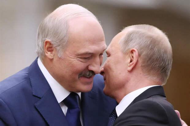 Об аншлюсе Беларуси уже скоро