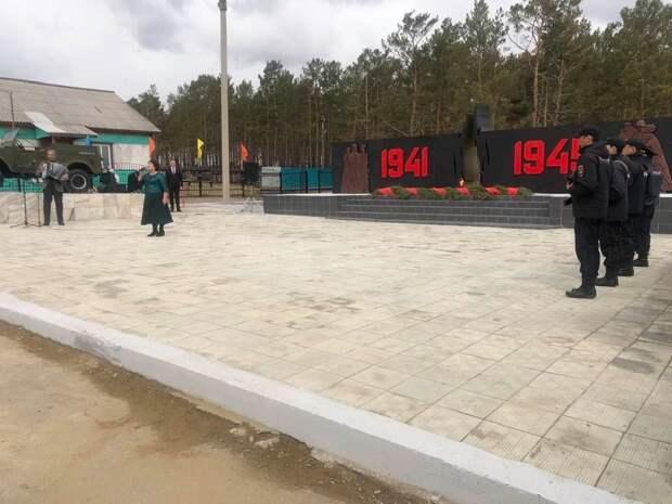 В посёлке Баяндай открыли самый большой мемориальный комплекс в Усть-Ордынском Бурятском округе