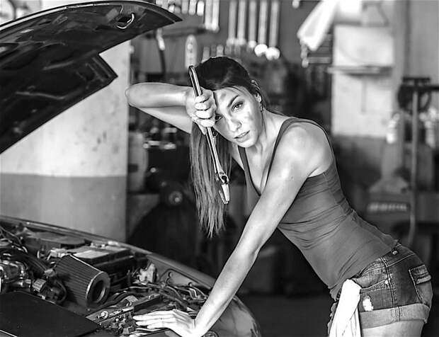 Женщины за работой
