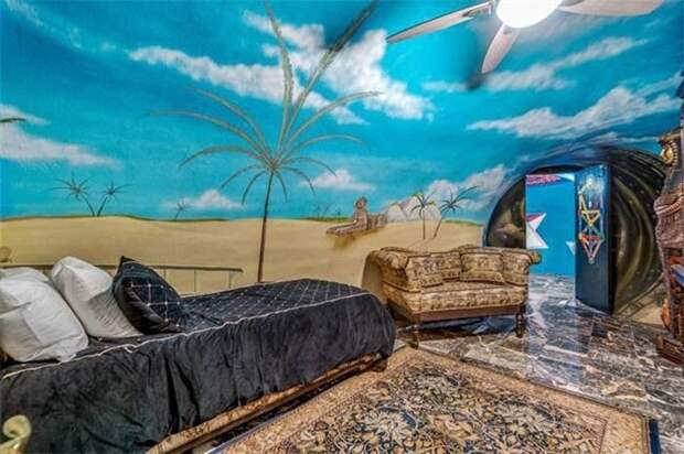 Как выглядит подземный дом вТехасе стоимостью два миллиона долларов