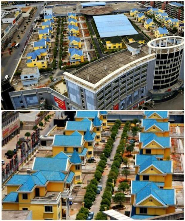 3. Коттеджный поселок в Китае дом, интересное, подборка, факты