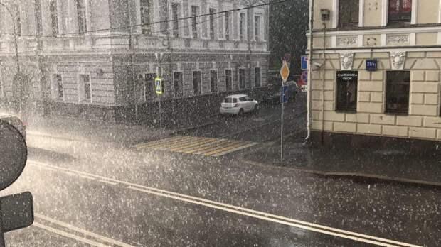 Небольшой дождь ожидается в Москве