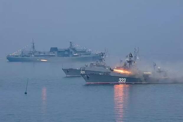 Корабли Тихоокеанского флота завершили развертывание в ходе учений