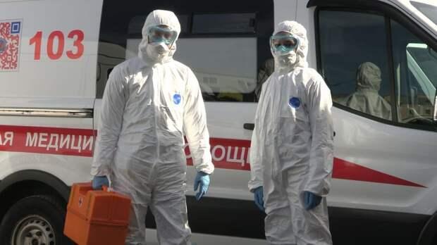Российские медики за сутки выявили 8465 новых случаев заражения COVID-19