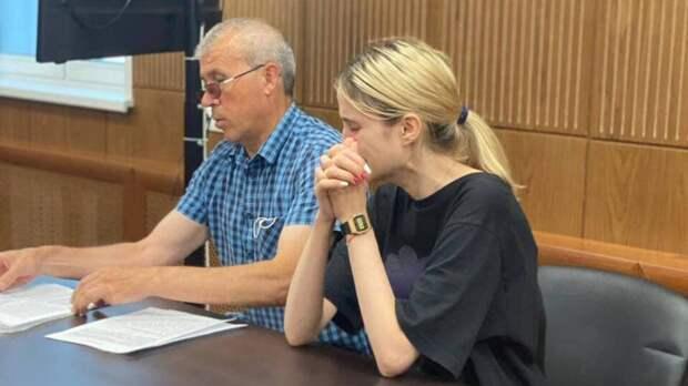 Виновница ДТП в Солнцеве попросила прощения и расплакалась на заключительном слове