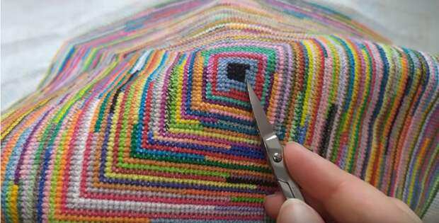 Что делать с нитками мулине, оставшимися после вышивки. Отличная идея