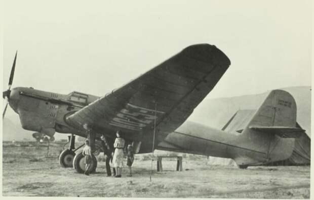 АНТ-25 в Сан-Джасинто