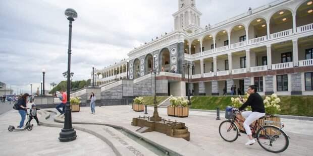 Собянин: Более 1,5 млн человек посетили Северный речной вокзал после окончания реставрации. Фото: Е. Самарин mos.ru