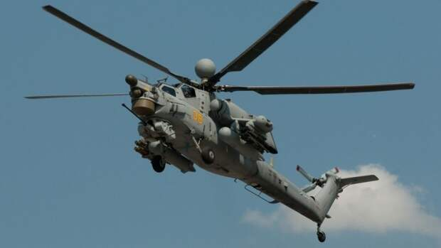 Ударный вертолет Ми-28НМ вооружили новейшими ракетами