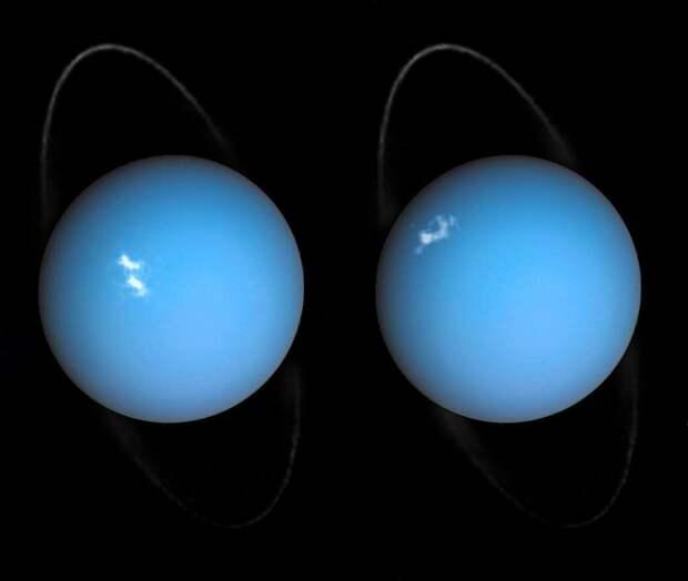 Полярное сияние Урана