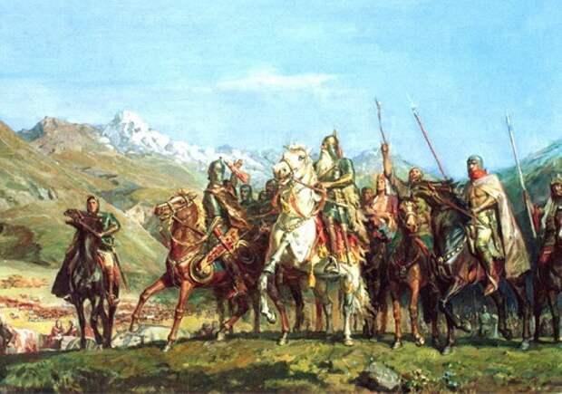 Аланы: как стражи Рима стали его разорителями