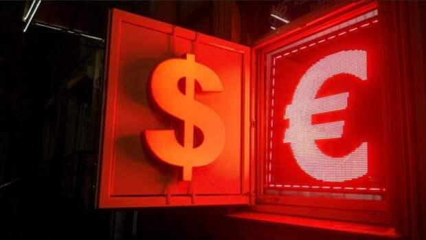 Курс евро к доллару тестирует минимумы 19апреля