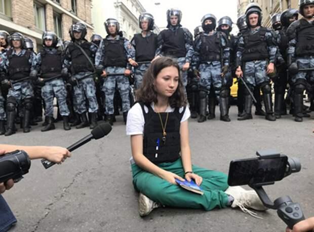 Для создания «образа» навальнисты использовали несовершеннолетнюю девушку-инвалида