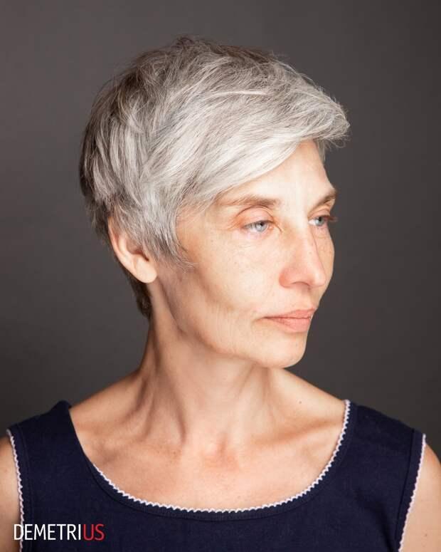 Стрижка пикси для дам старше 60 лет: 20+ привлекательных идей на 2021 год