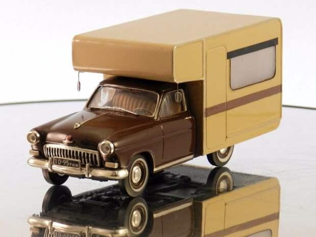 ГАЗ-21 кемпер авто, автодизайн, газ, запорожец, моделизм, модель, москвич, советские автомобили