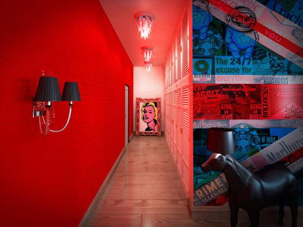 11 идей - коридор, как мультифункциональное пространство
