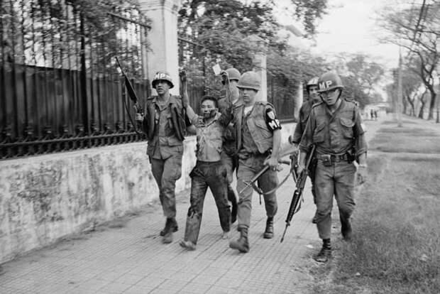 15. Атака на посольство США Вьетнам, война во вьетнаме, вьетнамская война, сша