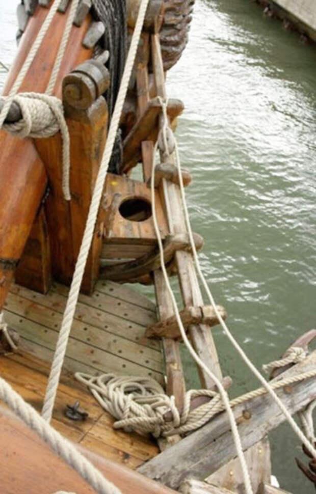Парусные удобства: как ходили втуалет мореходы прошлого