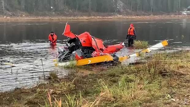Тело пропавшего при крушении вертолета Robinson пилота нашли жители Вологды