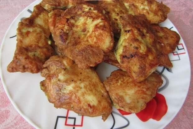 Куриное филе в особом кляре Рецепт, Куриное филе, Еда, Вкусняшки
