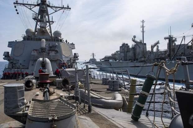 ВМС США сообщили о выходе своего эсминца в сторону Черного моря
