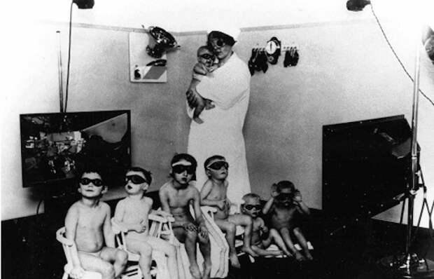 Lebensborn - программа по рождению чистокровных арийцев. ¦ Фото: messynessychic.com.