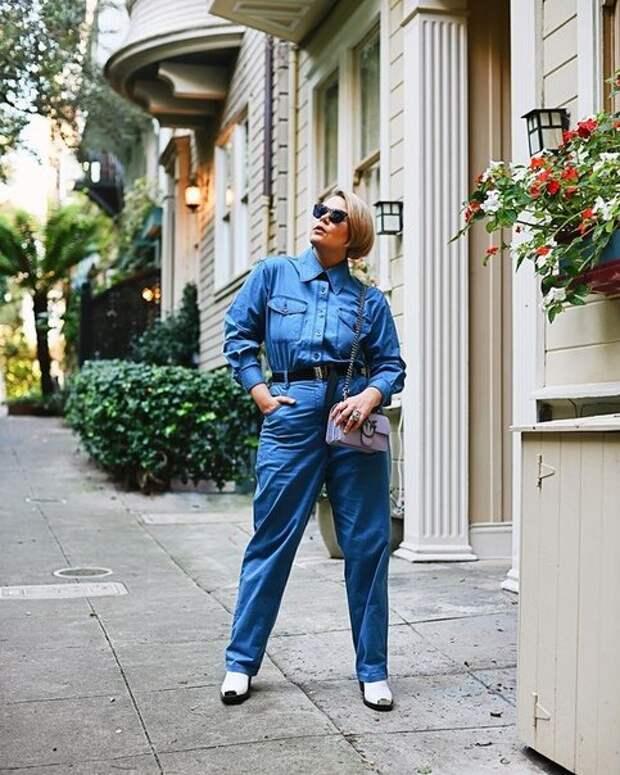 Как носить одежду плюс-сайз, но выглядеть не громоздко, а стильно и элегантно