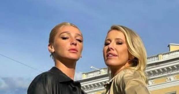Засос Ксении Собчак и Насти Ивлеевой за гранью дозволенного – видео