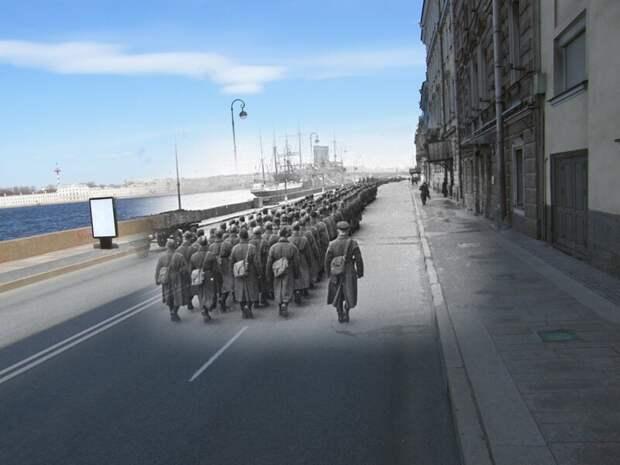 Ленинград 1941-2009 Набережная Кутузова блокада, ленинград, победа