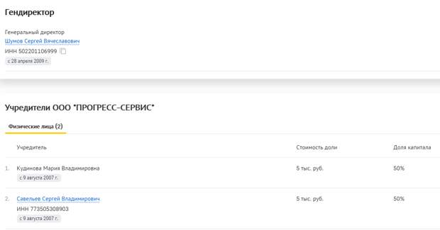 Скриншот: checko.ru