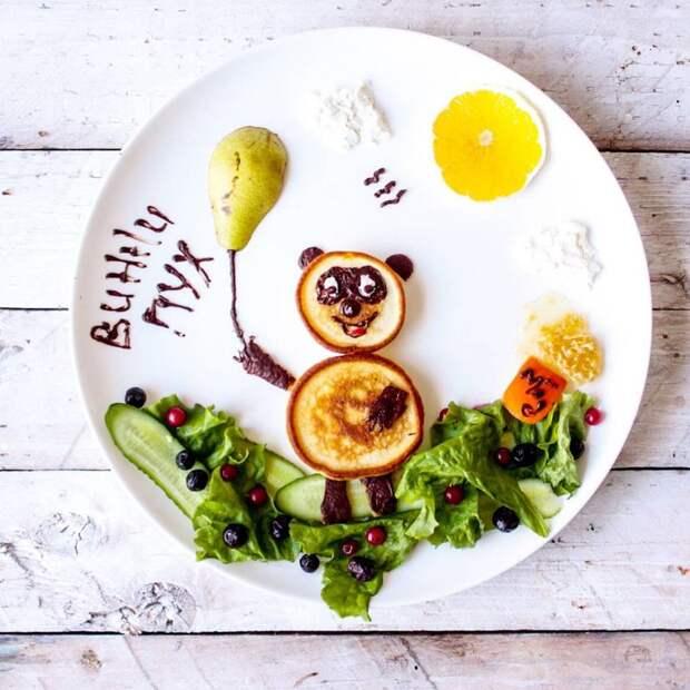10 способов превратить детский завтрак вмультфильм натарелке