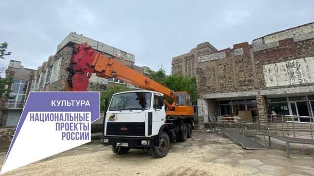 В Сакской музыкальной школе им. Ю. Богатикова заканчивается подготовительный этап капитального ремонта